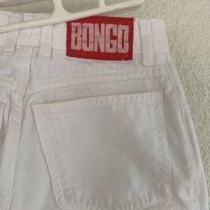 Vintage white BONGO mom jeans
